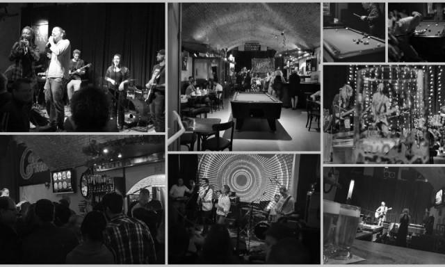 """Fotografischer Eindruck der Musikspielstätte """"Cafe Carina"""""""
