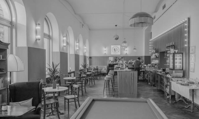 """Fotografischer Eindruck der Musikspielstätte """"Cafe Schopenhauer"""""""