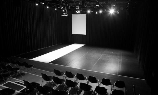 """Fotografischer Eindruck der Musikspielstätte """"Kosmos Theater"""""""
