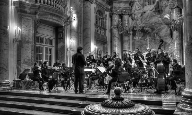 """Fotografischer Eindruck der Musikspielstätte """"Karlskirche"""""""